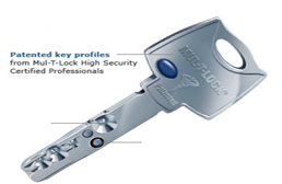 we have in stock highly secure locks and key